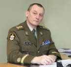 COL A. Ermus, Commander of the Estonian National Defence College
